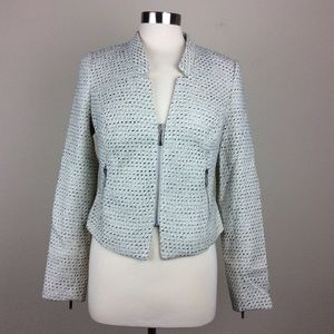 3 for $15 I A.N.A. Zip front jacket